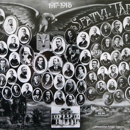sfatul tarii chisinau 27 martie 1918 unirea basarabiei cu romania
